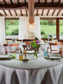 La Vecchia Posta - ristorante - Bagno Vignoni / interno