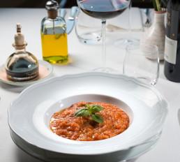 Pappa al pomodoro / La vecchia posta - ristorante - Bagno Vignoni